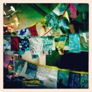 DIY: Scrap Fabric Bunting